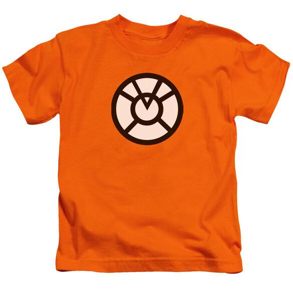 Green Lantern Agent Orange Short Sleeve Juvenile Orange T-Shirt