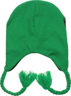 Joker Face Eye Mask Tassel Beanie