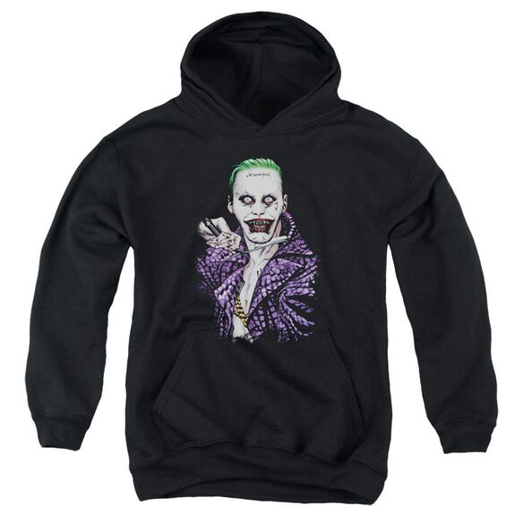 Suicide Squad Blade Youth Pull Over Hoodie