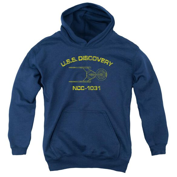 Star Trek Discovery Discovery Athletic Youth Pull Over Hoodie