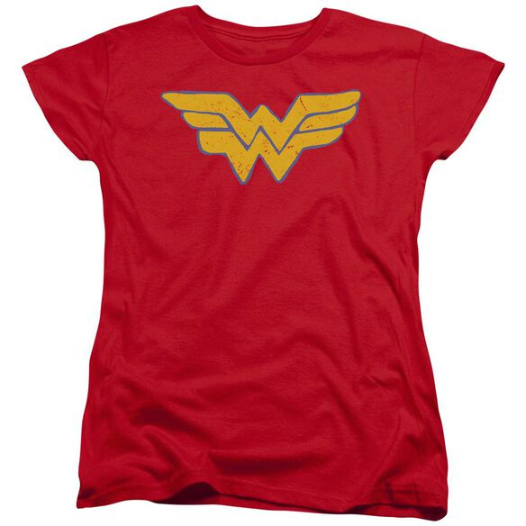 Jla Rough Wonder Short Sleeve Womens Tee T-Shirt