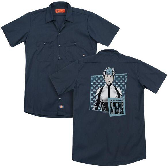 Doctor Mirage Good Doctor(Back Print) Adult Work Shirt
