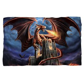 Anne Stokes Dragons Fury Fleece Blanket