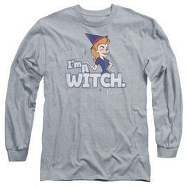 Bewitched Im A Witch Long Sleeve Adult Athletic T-Shirt