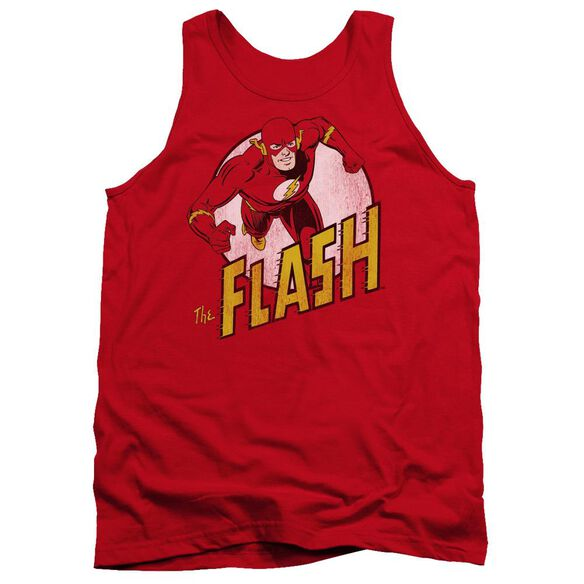 Dc Flash The Flash - Adult Tank - Red