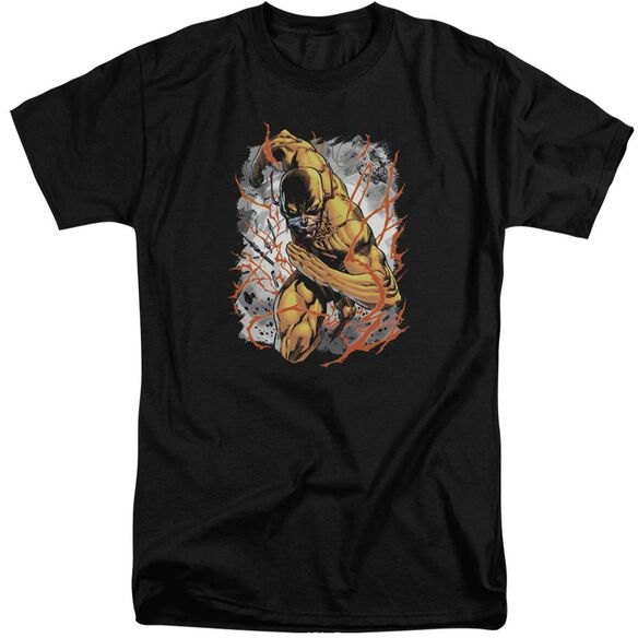 Jla Reversed Short Sleeve Adult Tall T-Shirt