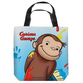 Curious George Paint Tote