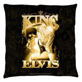 Elvis The King Throw