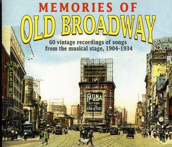 Memories Of Old Broadway / Various (Box)