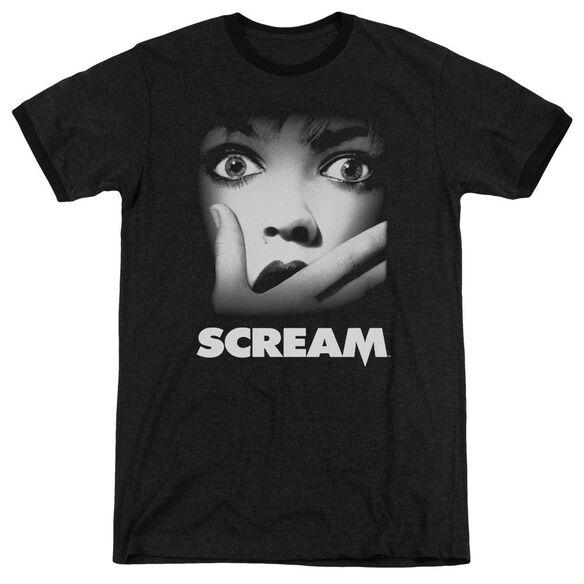 Scream Poster Adult Ringer