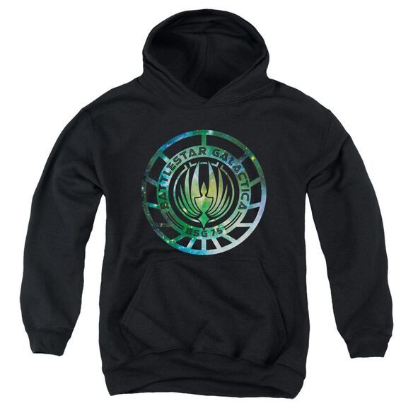 Battlestar Galactica (New) Galaxy Emblem Youth Pull Over Hoodie