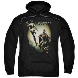 Injustice Gods Among Us Battle Of The Gods Adult Pull Over Hoodie