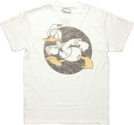 Donald Duck Vintage Circle T-Shirt Sheer