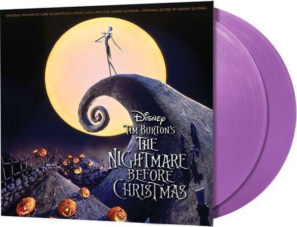 Danny Elfman - The Nightmare Before Christmas Original Motion Picture Soundtrack [Exclusive 2LP Purple Vinyl]