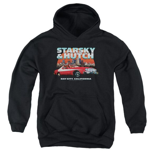Starsky And Hutch Bay City Youth Pull Over Hoodie