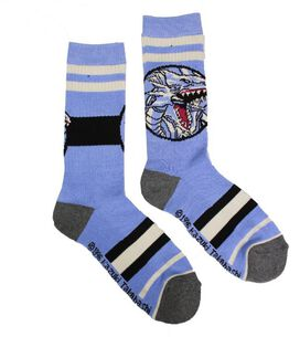 Yu-Gi-Oh Blue Eyes White Dragon Socks [1 pair]