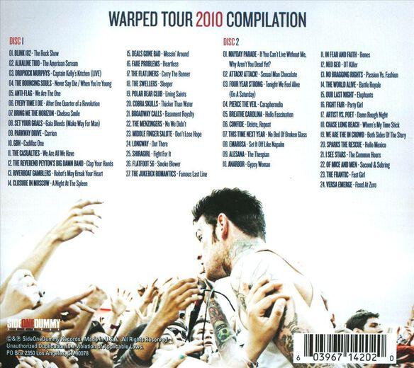 2010 Warped Tour Comp(2 Cd