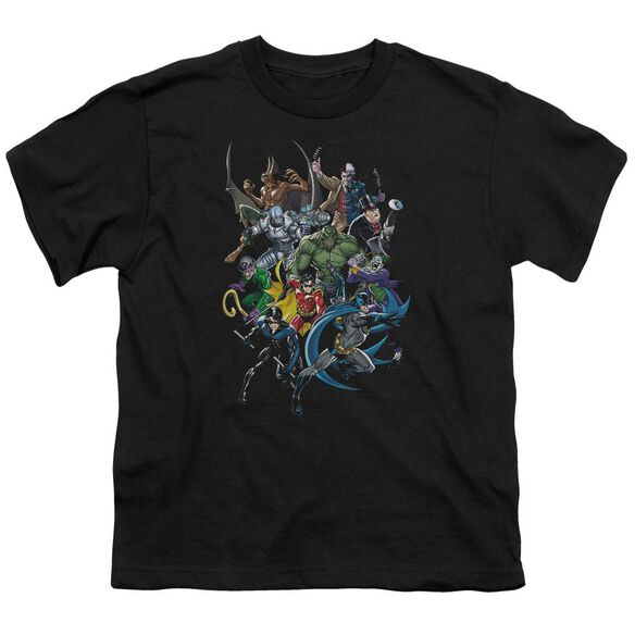 Batman Saints And Psychos Short Sleeve Youth T-Shirt