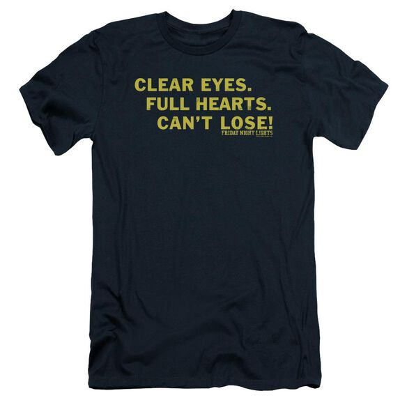 Friday Night Lights Clear Eyes Short Sleeve Adult T-Shirt