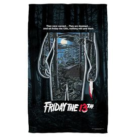 Friday The 13 Th Poster Beach Towel