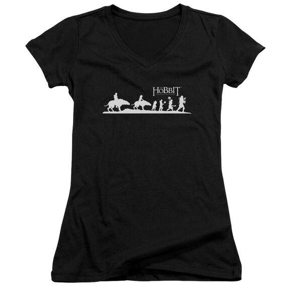 Hobbit Orc Company Junior V Neck T-Shirt
