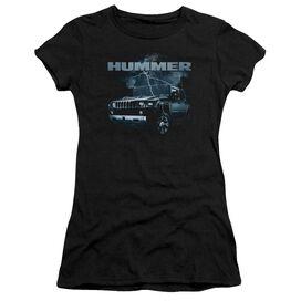 Hummer Stormy Ride Short Sleeve Junior Sheer T-Shirt