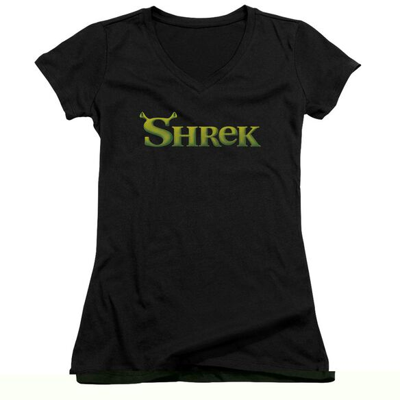 Shrek Logo Junior V Neck T-Shirt