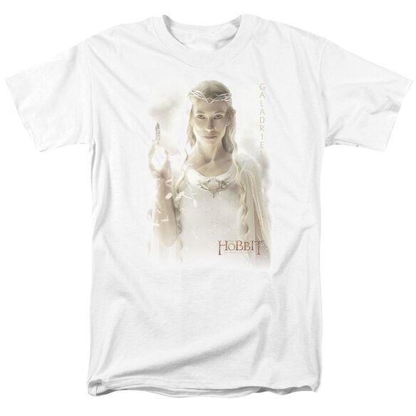 Hobbit Galadriel Short Sleeve Adult White T-Shirt