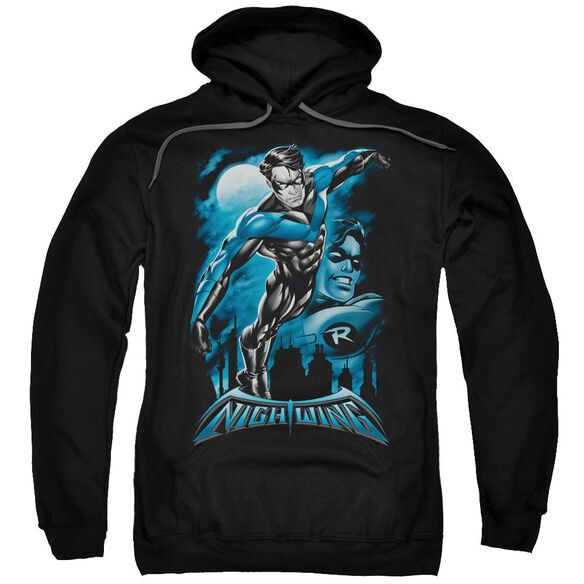 Batman All Grown Up Adult Pull Over Hoodie