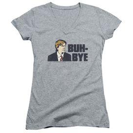 Snl Buh Bye Junior V Neck Athletic T-Shirt