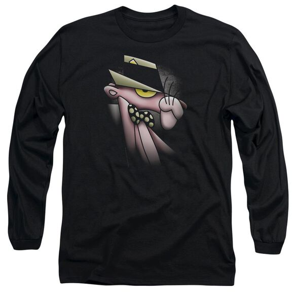 Pink Panther Smooth Panther Long Sleeve Adult T-Shirt