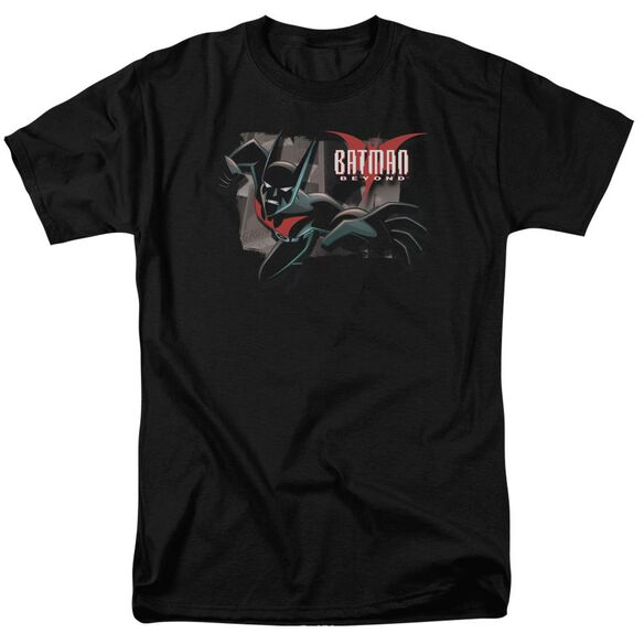 Batman Beyond Out Of The Frame Short Sleeve Adult Black T-Shirt