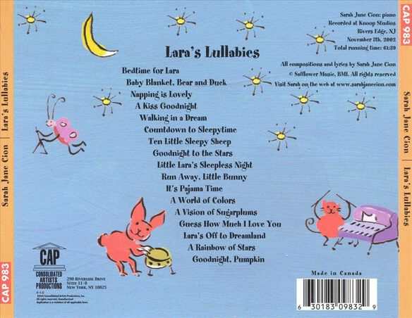 Lara's Lullabies