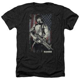 Rambo:First Blood Worn Liberty Adult Heather