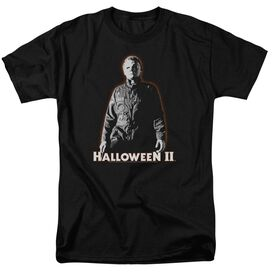HALLOWEEN II MICHAEL MYERS - S/S ADULT 18/1 - BLACK T-Shirt