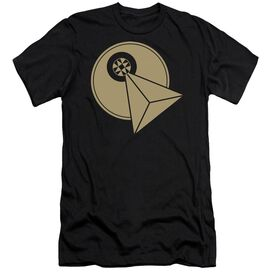 STAR TREK VULCAN LOGO - S/S ADULT 30/1 - BLACK T-Shirt