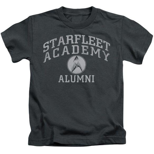 Star Trek Alumni Short Sleeve Juvenile Charcoal T-Shirt