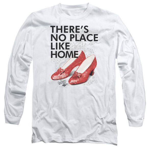 Wizard Of Oz No Place Like Home Long Sleeve Adult T-Shirt