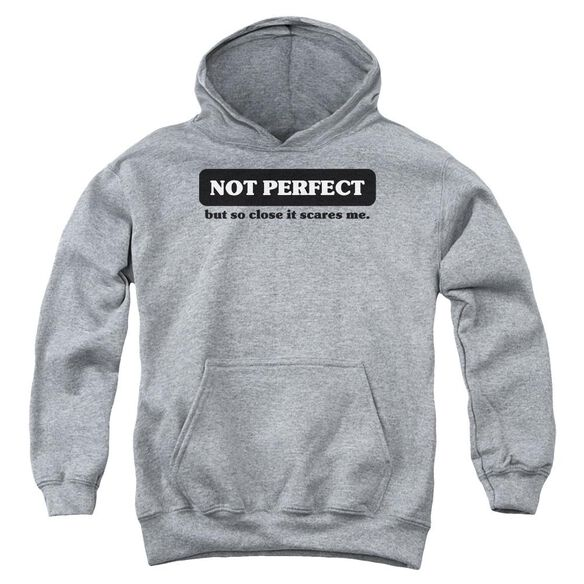 Not Perfect Youth Pull Over Hoodie