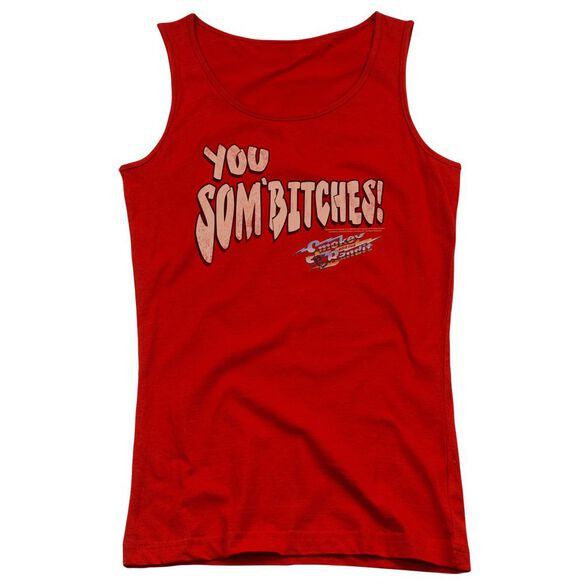 Smokey And The Bandit Sombitch Juniors Tank Top