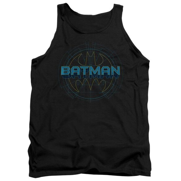 Batman Bat Tech Logo - Adult Tank