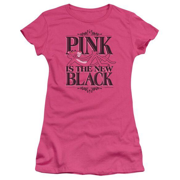 Panther The New Black Short Sleeve Junior Sheer Hot T-Shirt