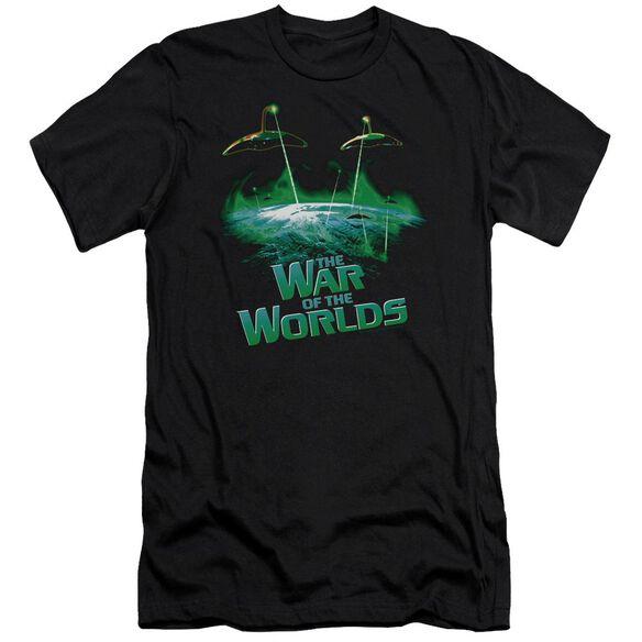 War Worlds Global Attack Short Sleeve Adult T-Shirt