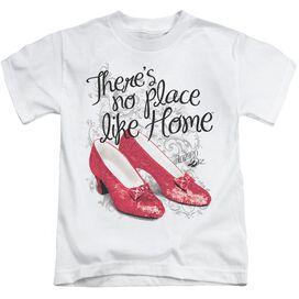 Wizard Of Oz Ruby Slippers Short Sleeve Juvenile T-Shirt