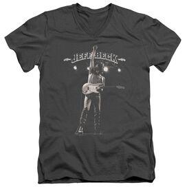 Jeff Beck Guitar God Short Sleeve Adult V Neck T-Shirt