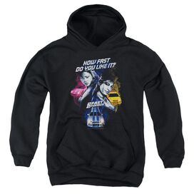 2 Fast 2 Furious Fast Women - Youth Pull-over Hoodie - Black - Xl
