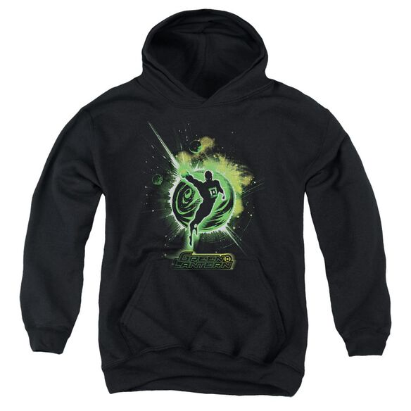 Green Lantern Shadow Lantern Youth Pull Over Hoodie