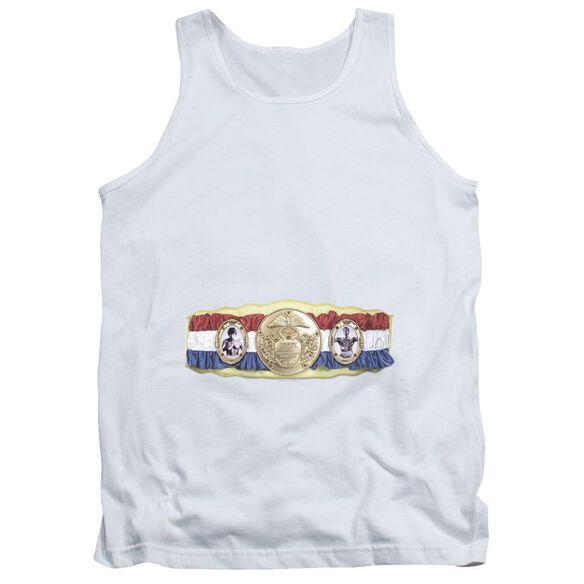 Rocky Championship Belt(Bottom Front) Adult Tank
