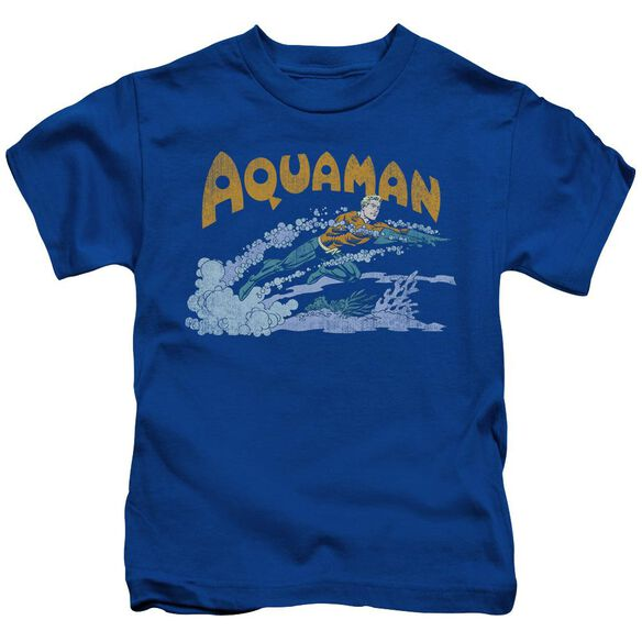 Dc Aqua Swim Short Sleeve Juvenile Royal Blue T-Shirt