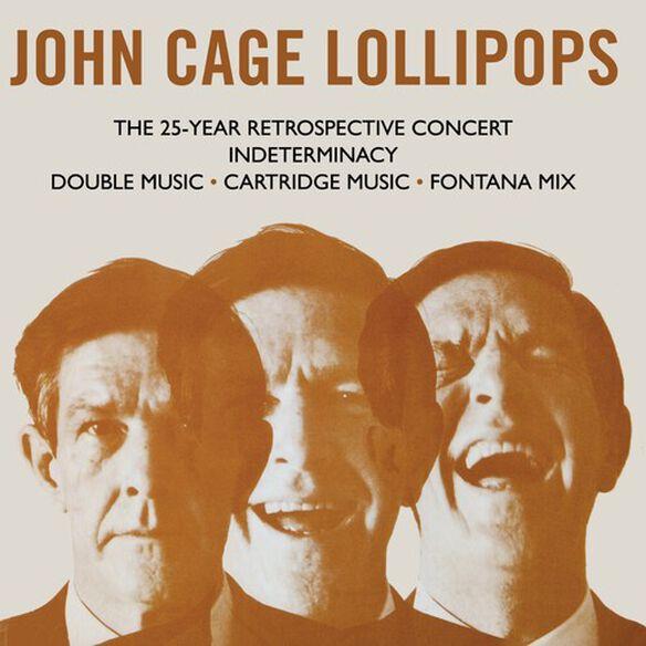 John Cage - Lollipops: 3CD Capacity Wallet